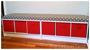 How To Make A Toy Storage Bench by Toy Bench The Unique Nest