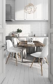 Scandi Style by Bedroom White Wood Stencil Chandelier Scandinavian Kitchen