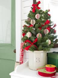 paper tree ornaments lights decoration