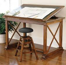 Artists Drafting Table Artist Table Painting Desk Drawing Table And Stool Product Detail