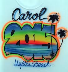 custom spray paint shirts 2016 custom airbrush t shirts airbrushed beach scene