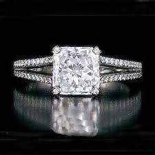 kendra wedding ring engagement ring square radiant diamond split band engagement ring