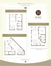 the blake at the grove floor plans