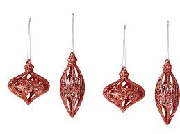 christmas tree baubles copper christmas decorations party