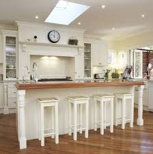 french country kitchen decorating with painted island kitchen cottage style wall shelves farmhouse wall shelving