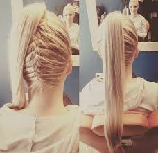 layer hair with ponytail at crown 22 cute ponytails for long medium length hair straight messy