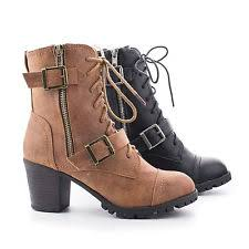womens combat boots size 9 combat boots lace up formal shoes for ebay
