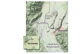 Jackson Hole Map Conservation Goals In Jackson Hole Collide With A Need For Worker