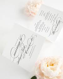 trifold wedding program paper marriage wedding ceremony programs wedding programs by shine