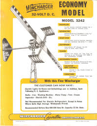 support for wincharger models 622 1222 winco inc