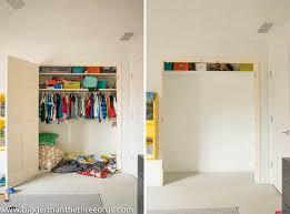 how to build a closet loft