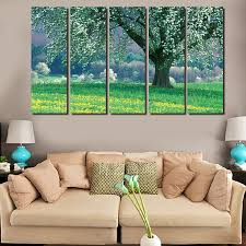 online buy wholesale canvas texture trees painting from china