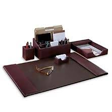 desk sets and mouse pads u2013 executive desk accessory sets from levenger