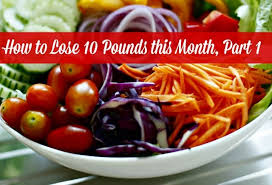how to lose 10 pounds this month part 1 healthy eating plan