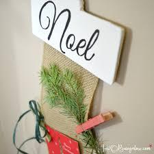 diy hanging christmas card holder tutorial h20bungalow