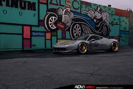 ferrari gold and black grey liberty walk ferrari 458 italia on gold adv 1 wheels