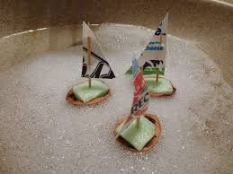 walnut shell boats choices for children