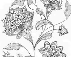 colouring pages dragonfly flower tangledpeacock
