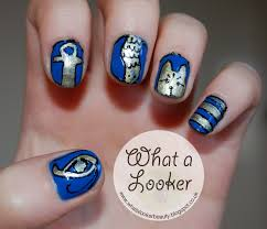 what a looker katy perry dark horse inspired nails