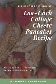Cottage Cheese Carb Cottage Cheese Pancakes Recipe