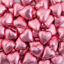 heart chocolates pink belgian chocolate hearts 500g 5kg
