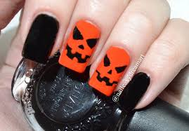 nail art pumpkinil art designspumpkin designs fantastic images