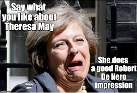 May Meme - i guess she won t be cheering on trump then imgflip