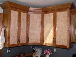 Kitchen Cabinet Doors Ideas Curly Maple Cabinet Doors Cherry W Curly Maple Door