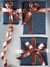 copper wrapping paper with a luxe copper finish and posable wired edges our fabulous