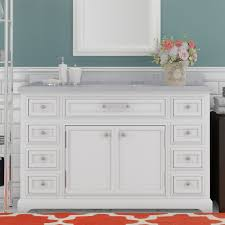 Single Sink Bathroom Vanity Darby Home Co Colchester 48
