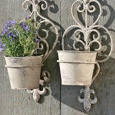 Wall Mounted Flower Pot Holder Wall Flower Pot Holder U2013 Rseapt Org