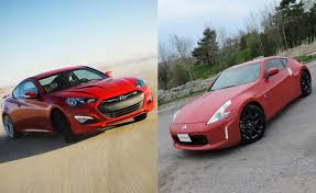 hyundai genesis vs nissan 370z autoguide now for the week of july 13 autoguide com