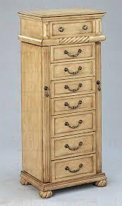 jewelry armoire oak finish amazon com coaster traditional jewelry armoire oak kitchen dining