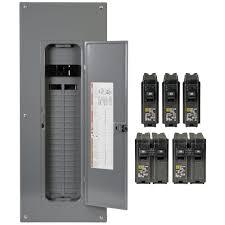 square d homeline 200 amp 40 space 80 circuit indoor main breaker