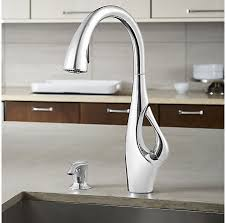 pulldown kitchen faucet polished chrome indira 1 handle pull kitchen faucet f 529