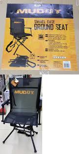 Rogers Goosebuster Blind Blinds 177910 Nib Muddy Outdoors The Swivel Ease Ground Seat