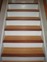 stair treads wood handscraped tread quality and risers finished
