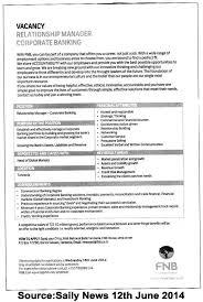 Sample Resume For Bank Job Bank Resume Format Resume Cv Cover Letter Cover Letter Template