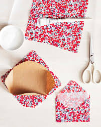 fabric envelope martha stewart