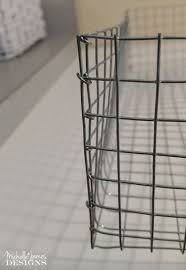 create your own wire baskets hometalk