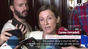 catalonia vows to defend sovereignty as spain blocks parliament