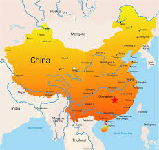 China On A Map by China Intl Airport Conference And Exhibition Cace 2016