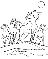 free horse colouring pages murderthestout