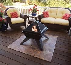 wonderfull fire pit mat for wood deck remodel wooden deck ideas