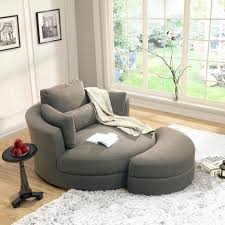 Chairs With Ottomans For Living Room Turner Grey Cuddler Swivel Chair With Storage Ottoman Deco