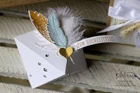 verpackungen fã r hochzeitsgeschenke hochzeitsgeschenk mit stempelset eins für alles stin up