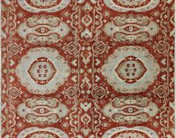 hand knotted 8 x 10 chobi oriental ikat design rug h5960