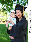baby graduation cap and gown baby graduation babys show growth and potential early one