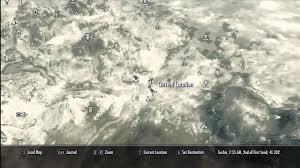 Solstheim Map Skyrim How To Start Dragonborn Dlc Youtube