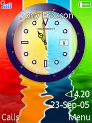 theme clock k800 themes free animated clock theme for sony ericsson k800 k800i